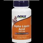 NOW Альфа-липоевая кислота 60 капс (ALA)