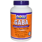 NOW - GABA Pure Powder, 170 грамм