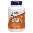 NOW - GABA 250 mg 90 chewable tabs
