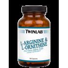 Twinlab  L-Arginine   L-Ornithine 100 капс