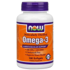 NOW Omega 3 - 100 капс.