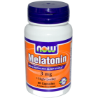 NOW Melatonin 60 капс