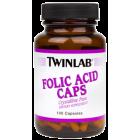 Twinlab Folic Acid Caps 800 Mcg 100 caps