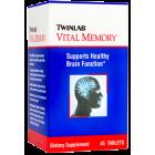 Twinlab Vital Memory Tablets, 45 tablets